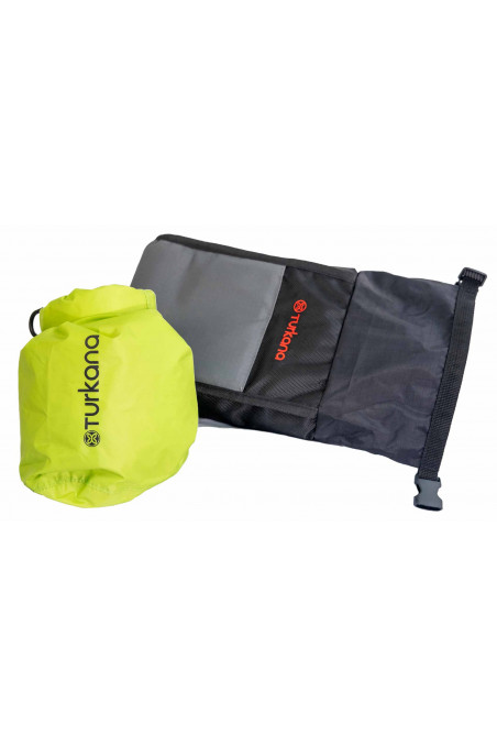 MOLLE pouches padded for protection of valuables water and dust-proof removable inner dry bag