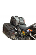 Additional storage options and luggage configuration motorcycle adventures