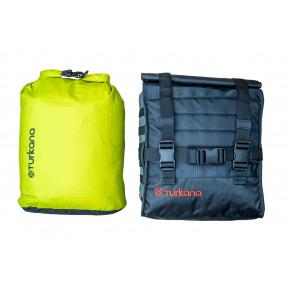 Gopher waterproof dustproof dry bags motorcycle adventures valuables. HippoHips luggage adventure soft panniers.