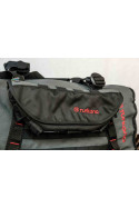 PelliPouch Turkanagear handle bar motorcycle luggage, frame bag pouch valuable items easy access. Water resistant. MOLLE