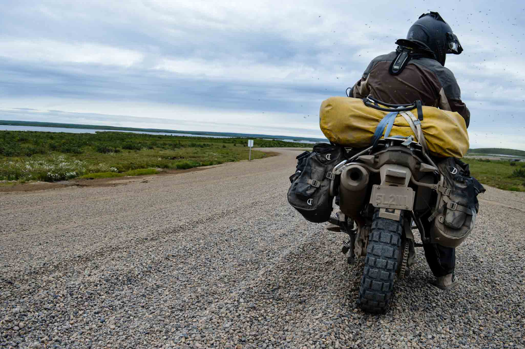 The worst terrain will show up inferior quality motorcycle gear. Turkana soft luggage motorbike gear are tough build to sustain the worst of travel